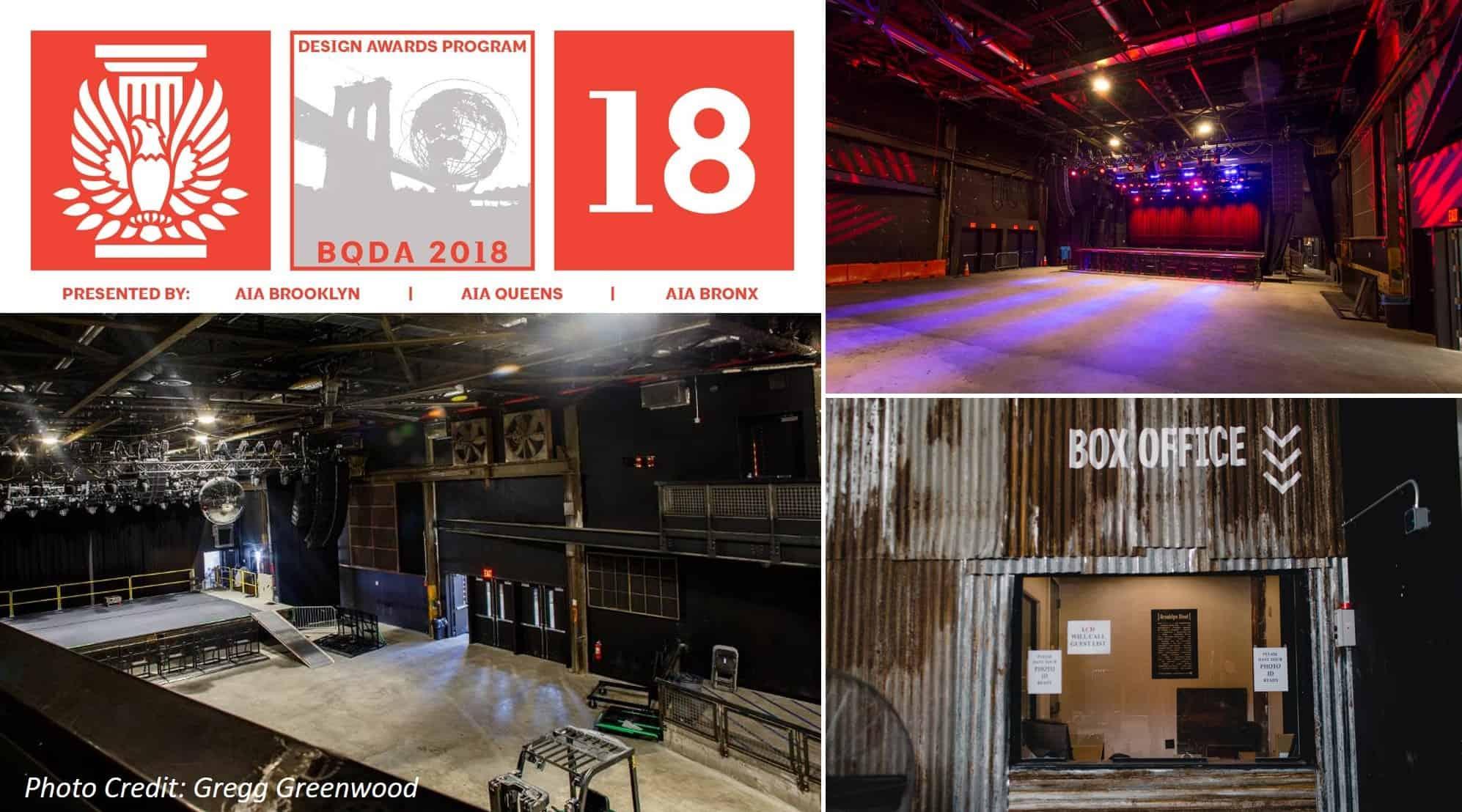 Brooklyn Steel 2018 BQDA Brooklyn People's Choice Award