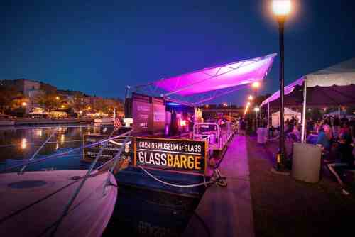 Corning Museum of Glass GlassBarge