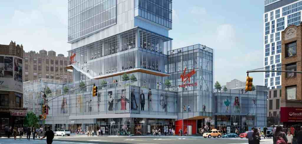 Facade Construction - NYC Virgin Hotel