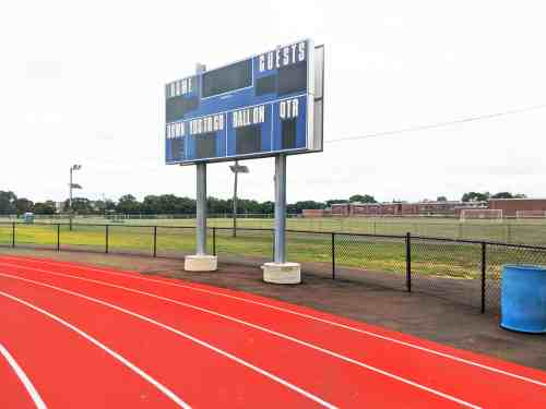 Track and Field Renovations