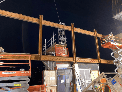 Truss System Construction Engineering - 251 West 14th Street
