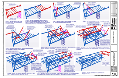 Pedestrian Bridge Construction - Greenpoint Landing