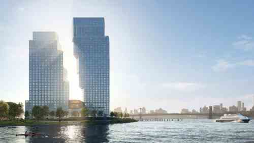 Waterfront Development in Greenpoint Landing Tops Out