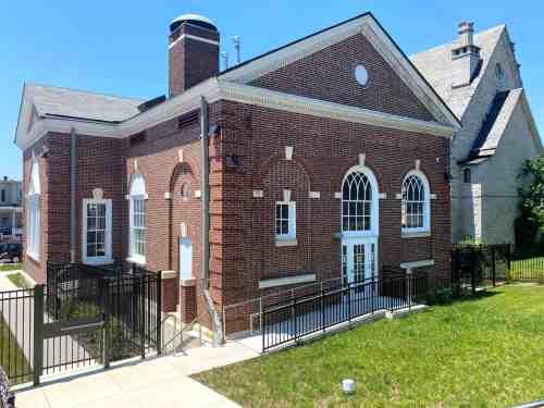 Library Renovation Hampden Branch