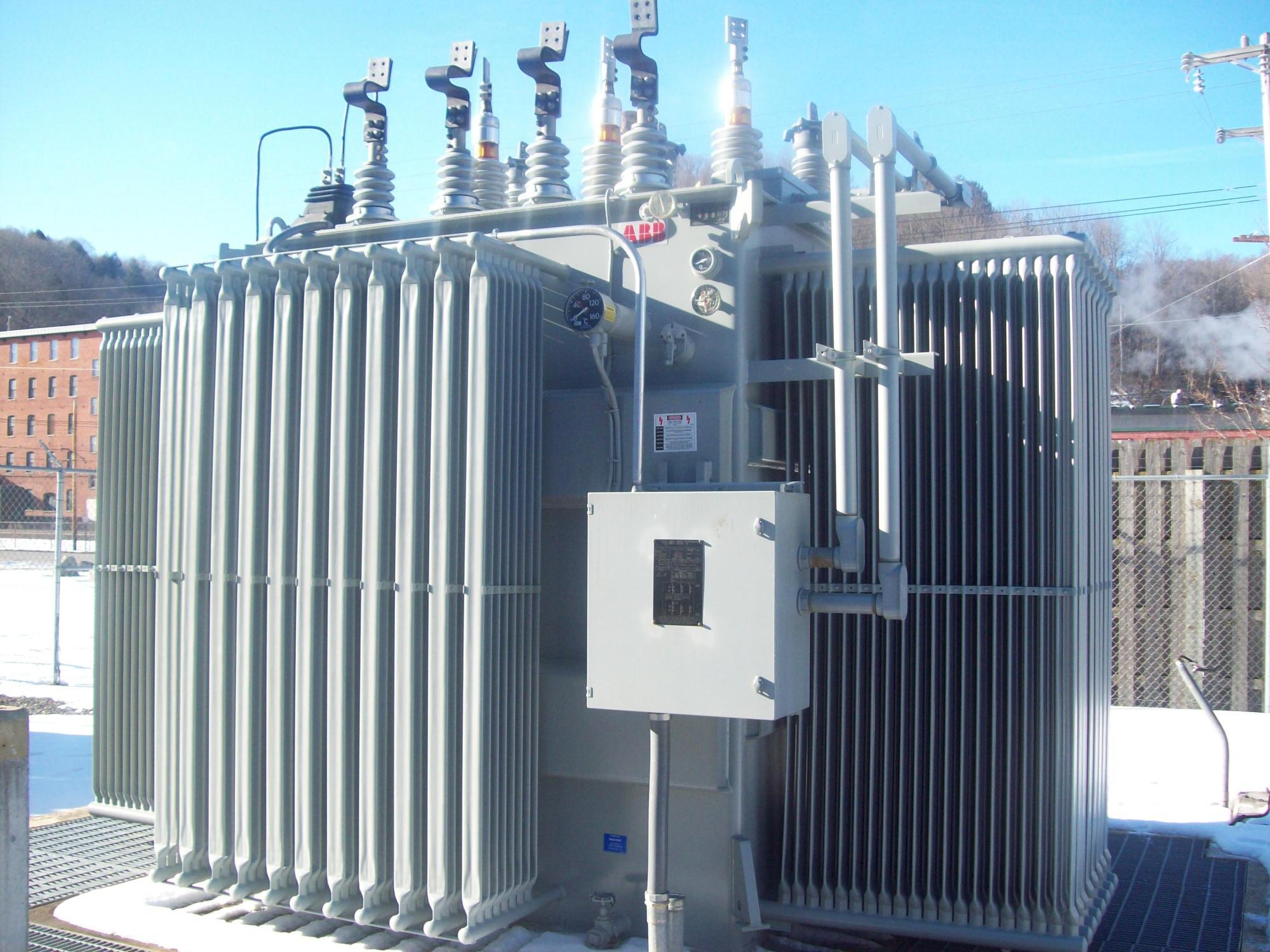 hight resolution of abb small power transformer 7500 8400 kva abb substation transformer mfd 2007