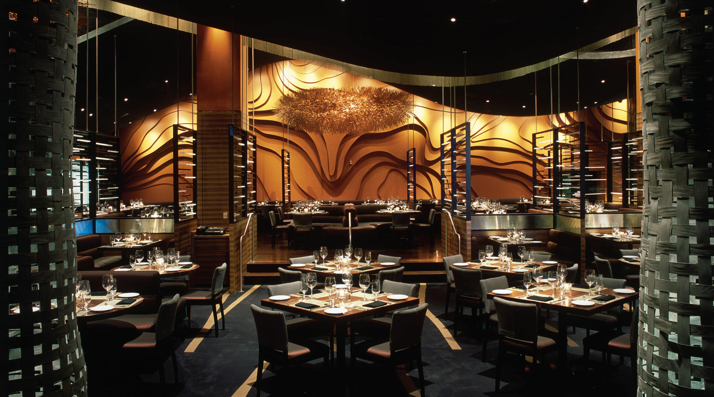 Italian Restaurant  FiAMMA at MGM Grand  MGM Resorts