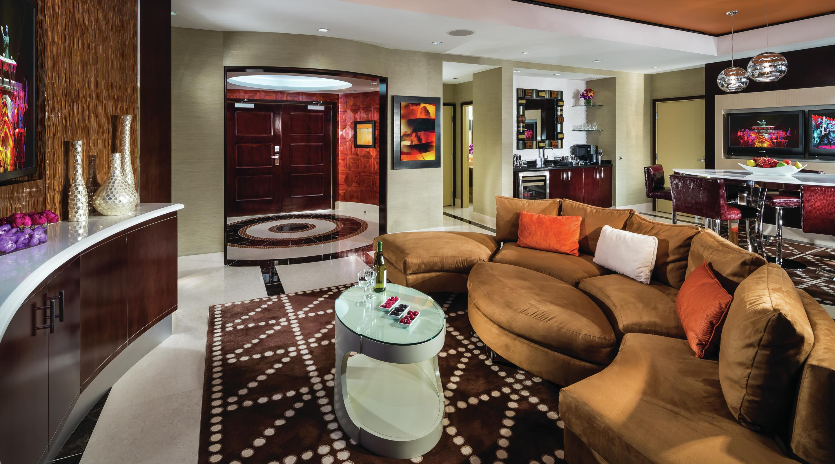 Las Vegas Suites HOTEL32 Two Bedroom Penthouse Monte