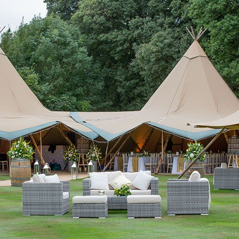 50th Wedding Anniversary Tipi Mgn Events