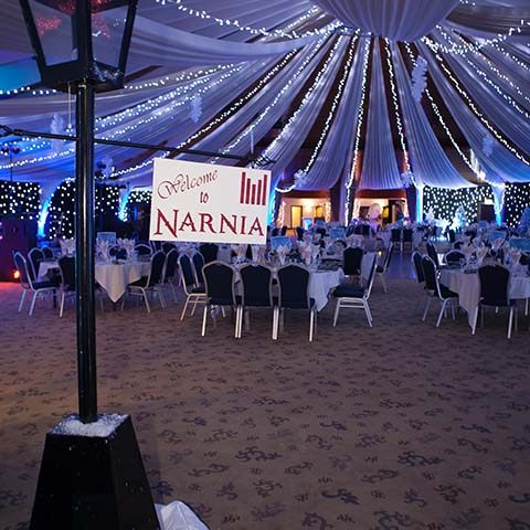 Narnia Themed Christmas Party  MGN Events