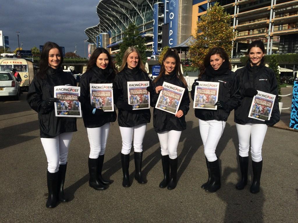 Racing Post team