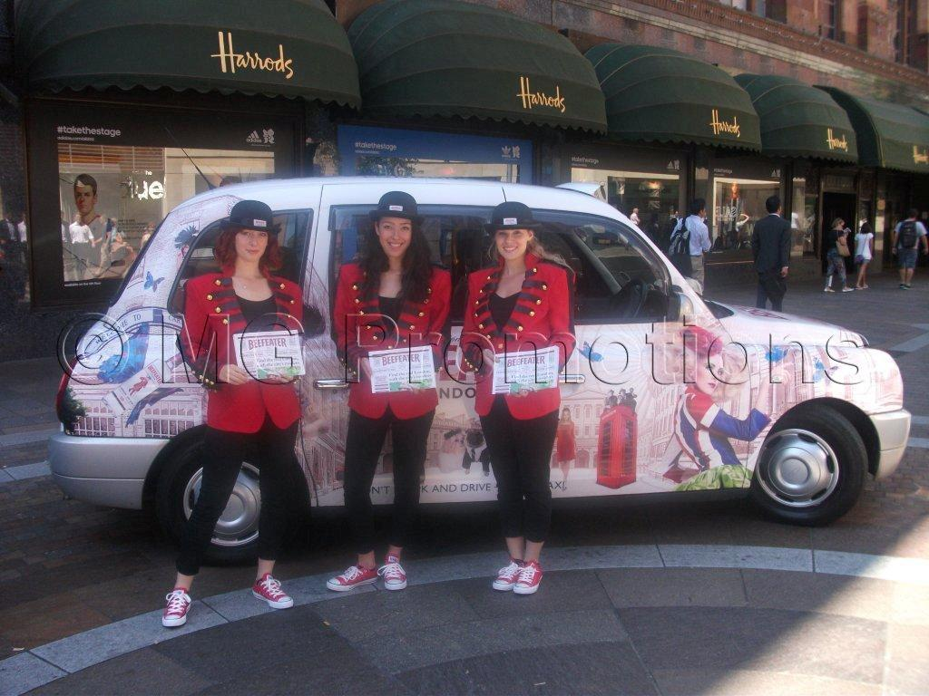 Beefeater Gin  Taxi Promo