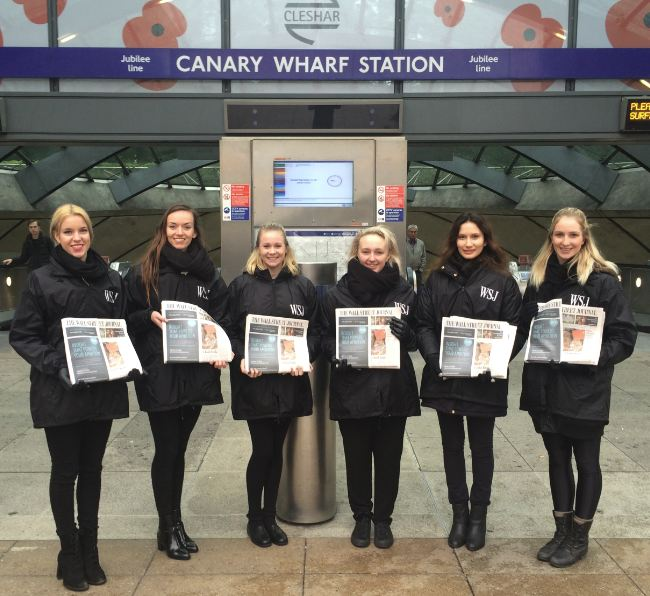 Wall Street team @ Canary Wharf