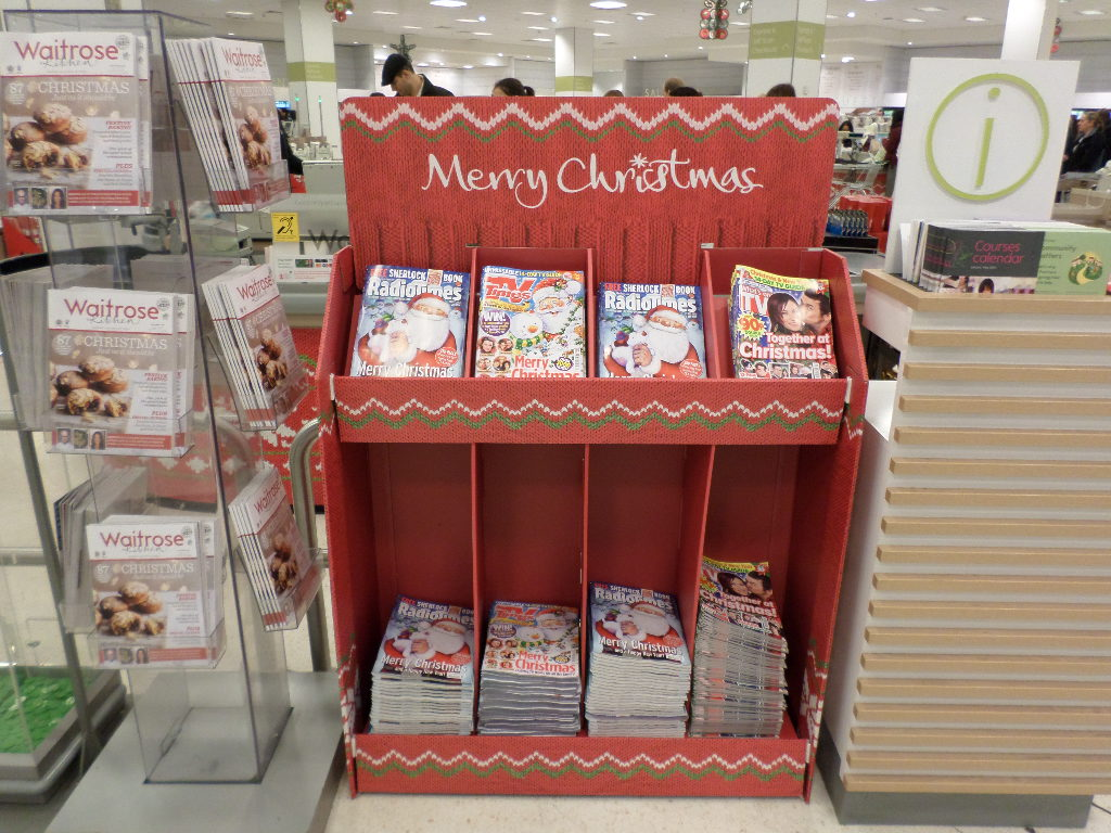 Christmas Magazine unit placement nationwide