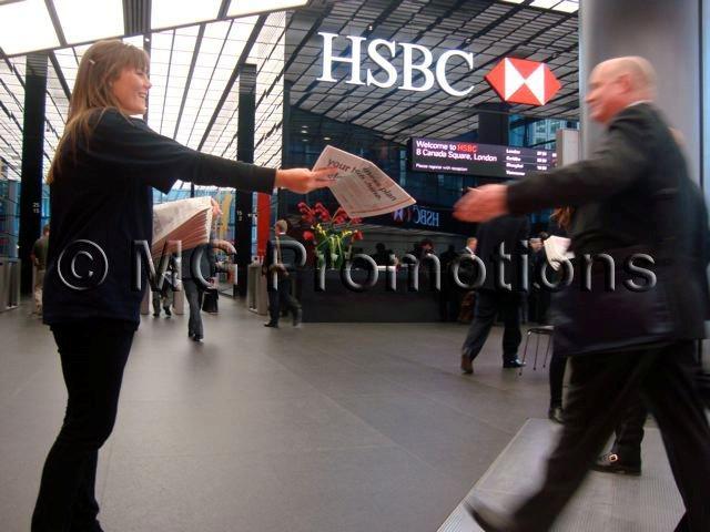 HSBC Canary Wharf Activity