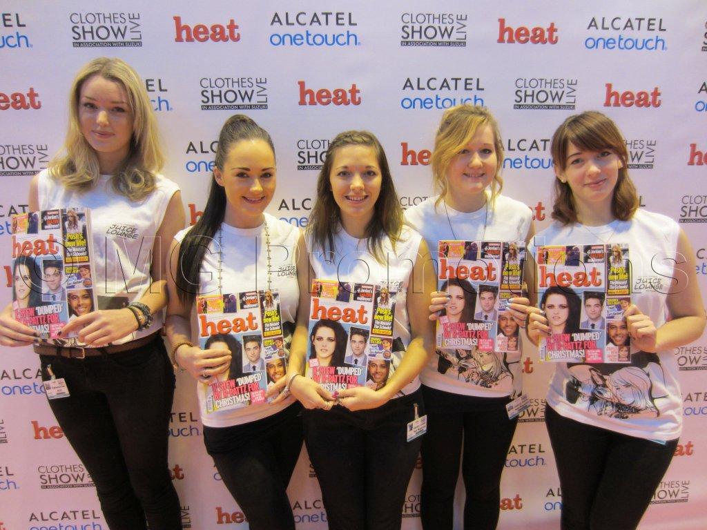 Heat Team Clothes Show
