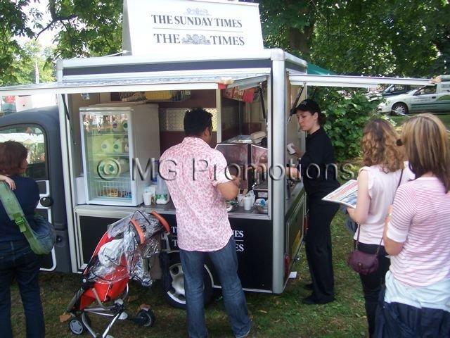 Regents Park The Times Coffee Van