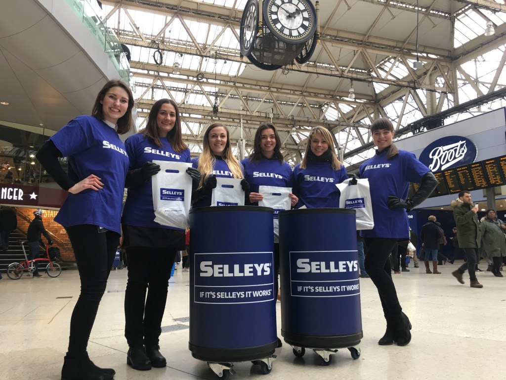 Waterloo Station Selleys sampling