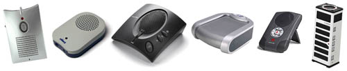 Six USB Speakerphones