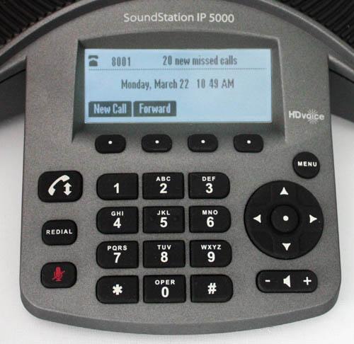 Polycom SoundStation IP5000 Keypad & LCD