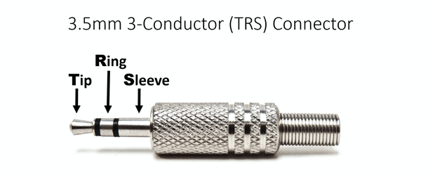 3.5mm 3-conductor-TRS