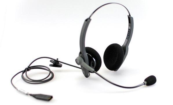 vxi passport 21 headset and QD cord