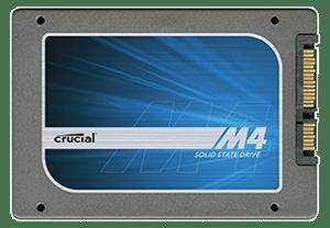 Crucial M4 256 GB SSD