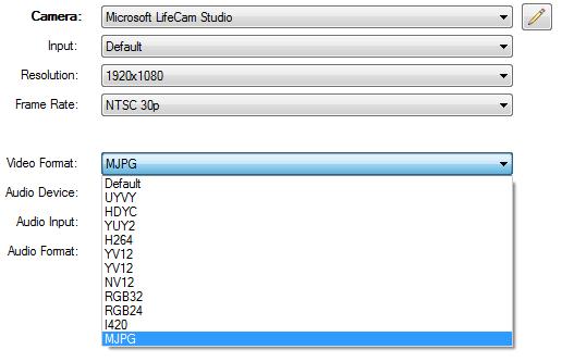 vMix LifeCam Settings