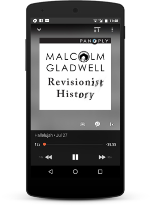 Revisionist History Podcast Nexus5