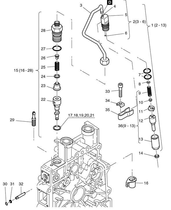 HATZ 1B20 1B30 podkładka pompy wtryskowej 50476900 MGS