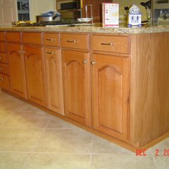 Red Oak Kitchen Cabinets Single Lever Faucet Phil Starks