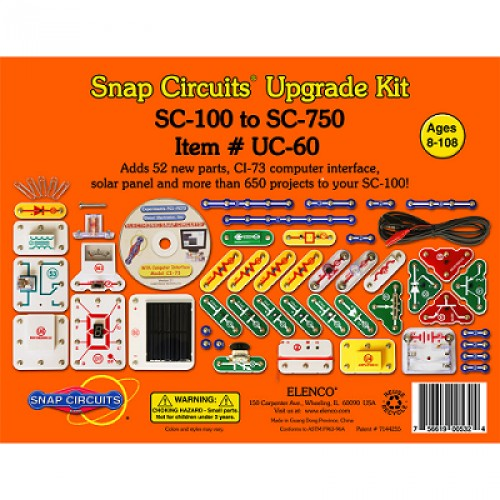 Parts Included In Your Snap Circuit Jr Kit