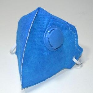 Máscara de proteção respiratória PFF1 com válvula, marca Grazia.