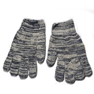 Luva tricotada mesclada 4 fios da marca Yeling