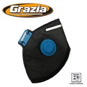 Respirador Grazia com proteção PFF2.