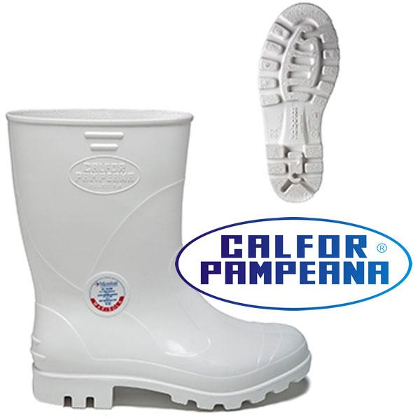 Bota de seguranca Branca em PVC CA 37770