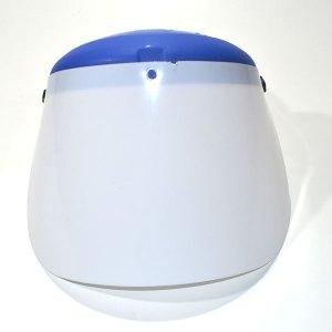 Protetor ideal para proteção facial contra particulas volantes multidirecionais.