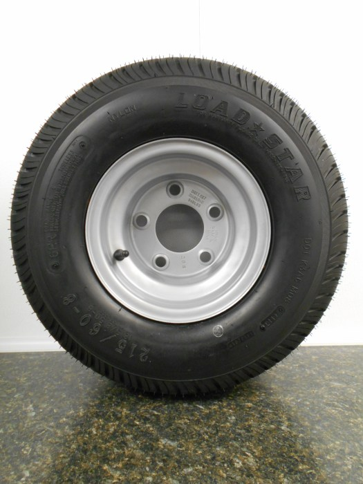 Snow Trailer Tire MG Trailer Sales