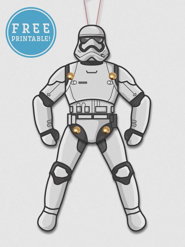 Star Wars Force Awakens Paper Puppet Printables M Gulin