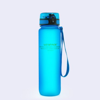 UZSPACE-1000ML-BPA-free-Water-Bottles-protein-Shaker-Scrub-Portable-Space-Adult-Sports-cycling-travel-camping-1