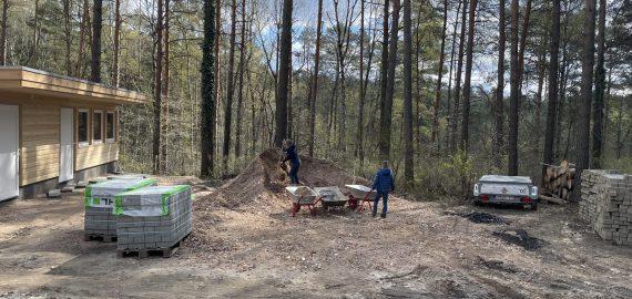 Update: Bautagebuch Camp Bohsdorf