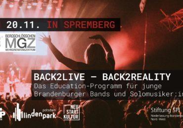 Back2Live – Zurück auf die Bühne(n) nach Corona