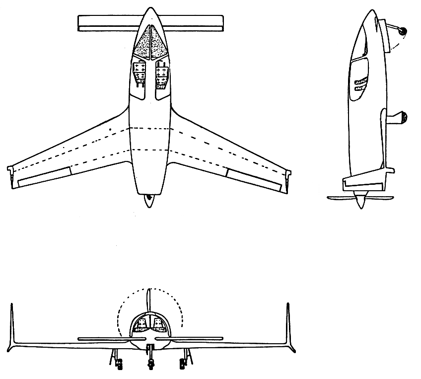 Design of two Airfoils for a Canard Airplane