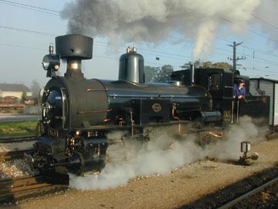 Mh.6 im Bahnhof Ober-Grafendorf
