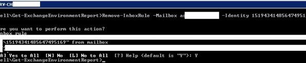 Remove-InboxRule