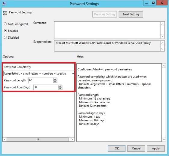 Local Admin Parolalarının Group Policy ve Active Directory İle Merkezi Olarak Yönetimi_18