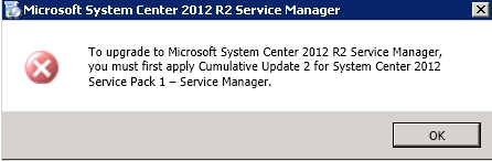 Upgrade Service Manager 2012 Sp1 to 2012 R2_13