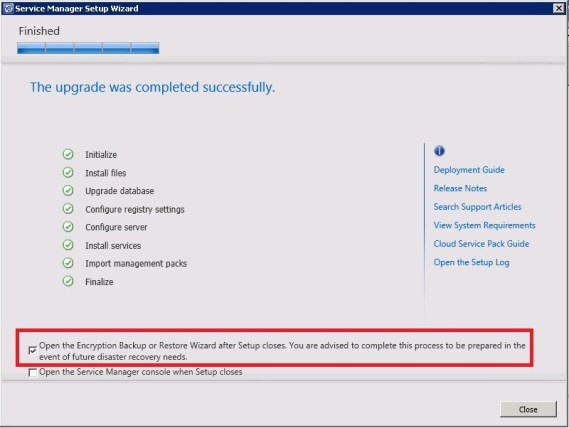 Upgrade Service Manager 2012 Sp1 to 2012 R2_30_1