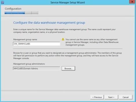 Service Manager 2012 R2 DataWarehose Kurulum ve Ayarlar_6