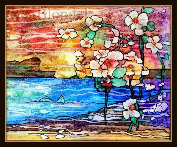 Small paradise – Encres sur carton – 46 X 56 cm – 200€