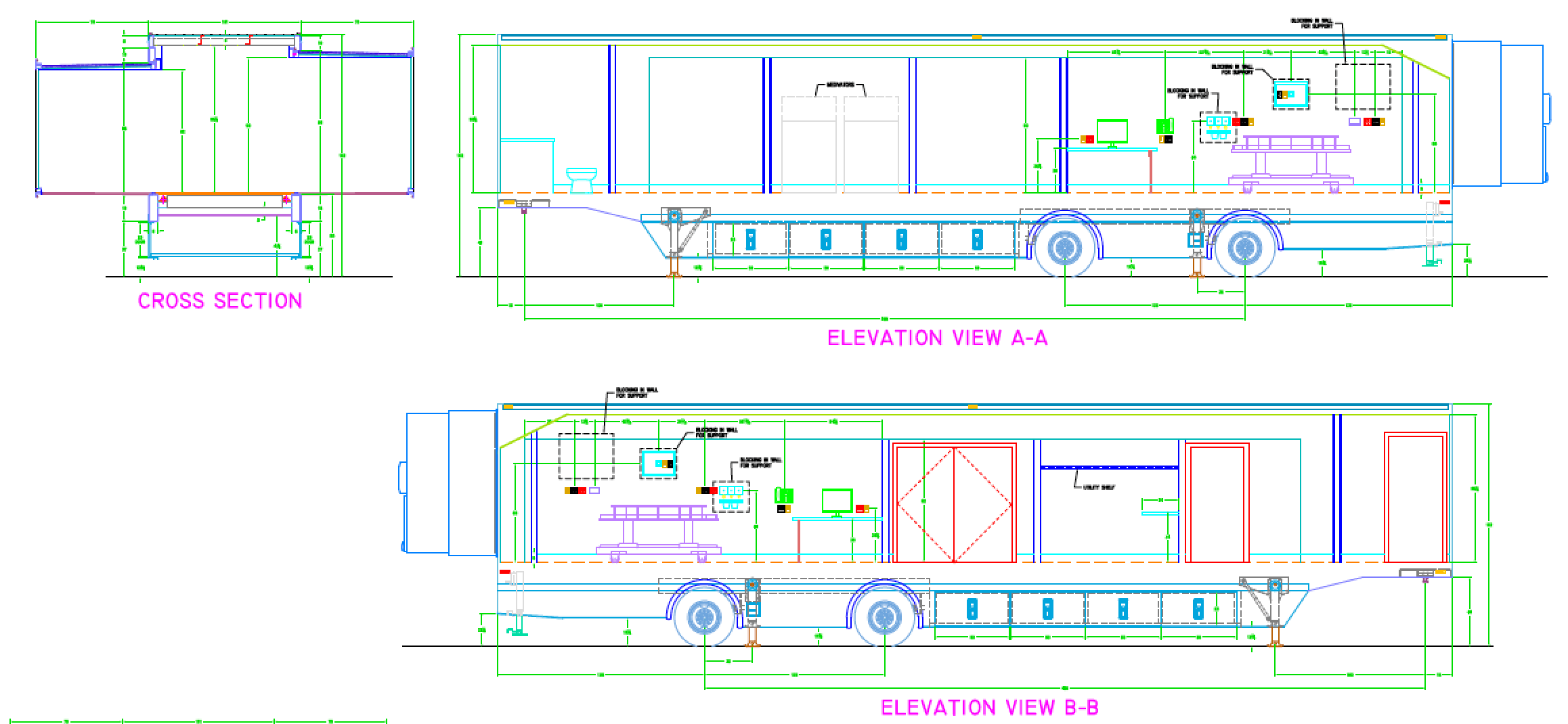 s plan wiring diagram ceiling fan 2 switches pre-owned mobile medical trailers - healthcare facilities llc